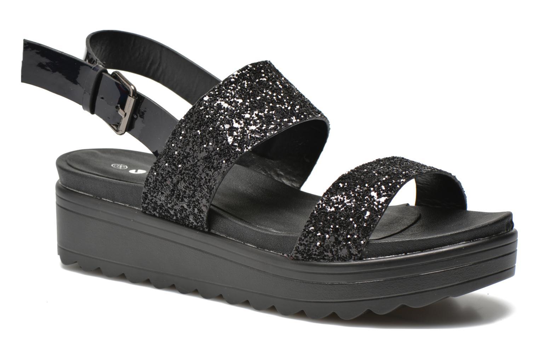Sandales et nu-pieds Victoria Sandalia Hebilla Noir vue détail/paire