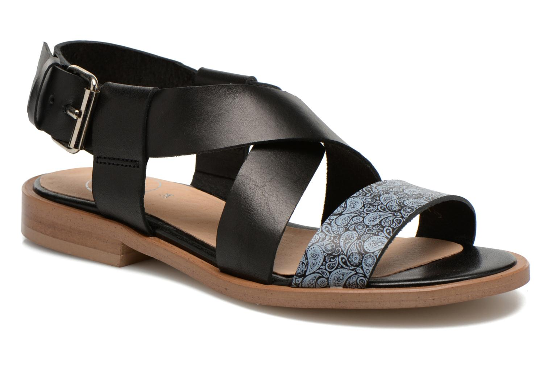 Sandals Yep DanyB Black detailed view/ Pair view