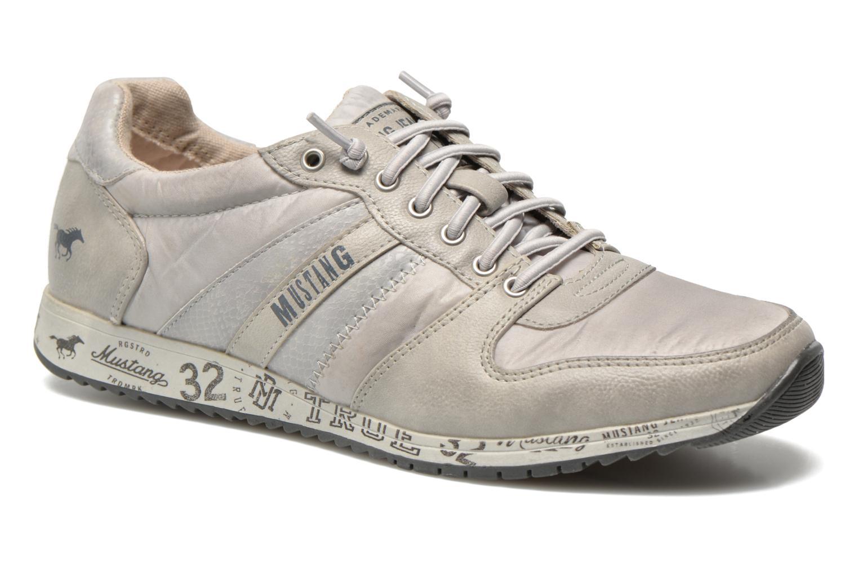 Baskets Mustang shoes Zoé Gris vue détail/paire
