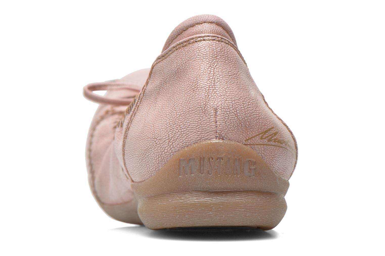 Ballerines Mustang shoes Lasle Rose vue droite