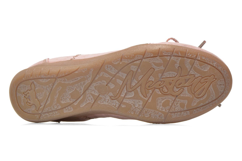 Ballerine Mustang shoes Lasle Rosa immagine dall'alto