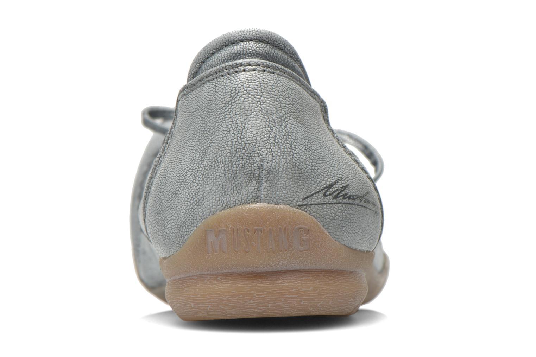 Ballerines Mustang shoes Lasle Gris vue droite