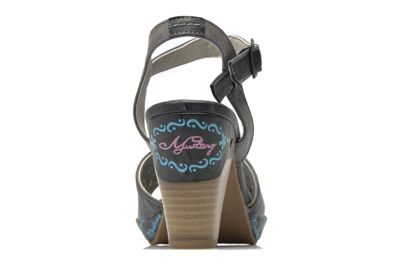 Sandales et nu-pieds Mustang shoes Bilte Gris vue droite