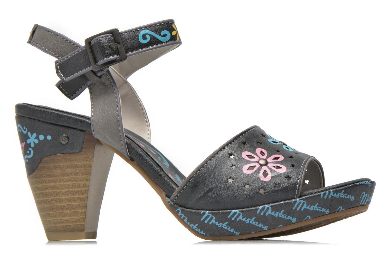 Sandales et nu-pieds Mustang shoes Bilte Gris vue derrière