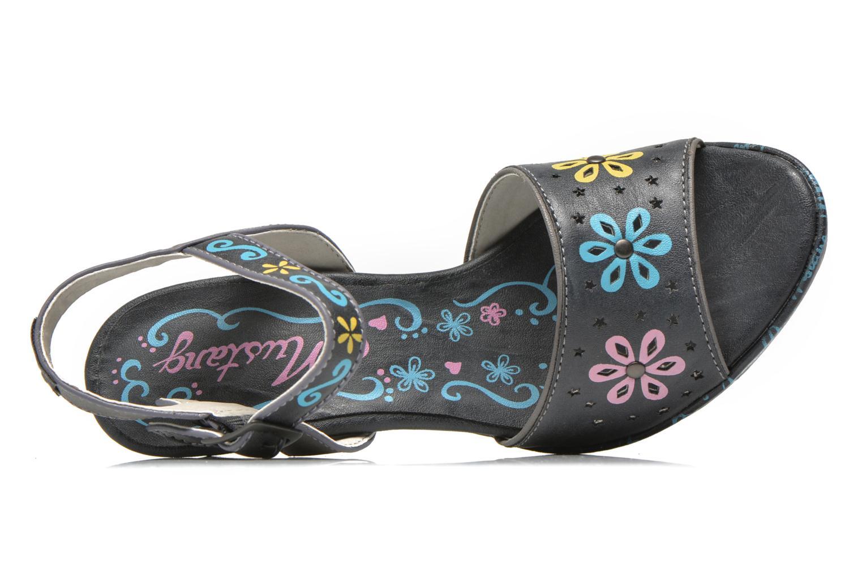 Sandales et nu-pieds Mustang shoes Bilte Gris vue gauche