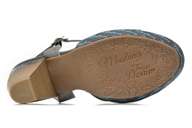 Sandales et nu-pieds Mustang shoes Bilte Gris vue haut