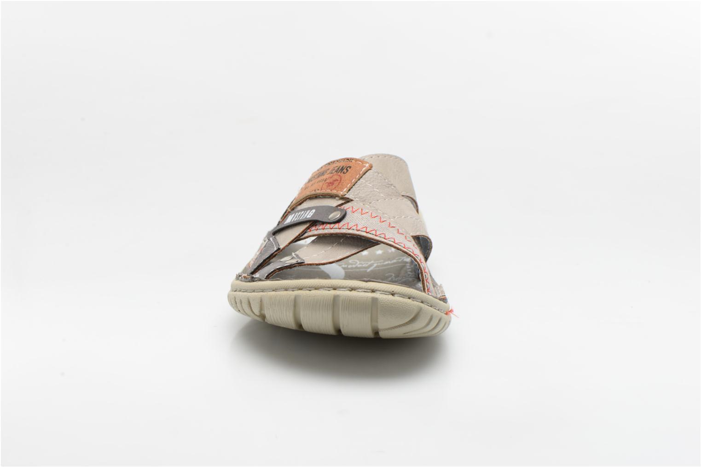 Sandales et nu-pieds Mustang shoes Silleul Gris vue portées chaussures