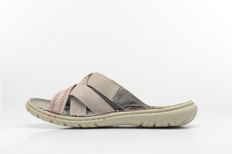 Sandales et nu-pieds Mustang shoes Silleul Gris vue face