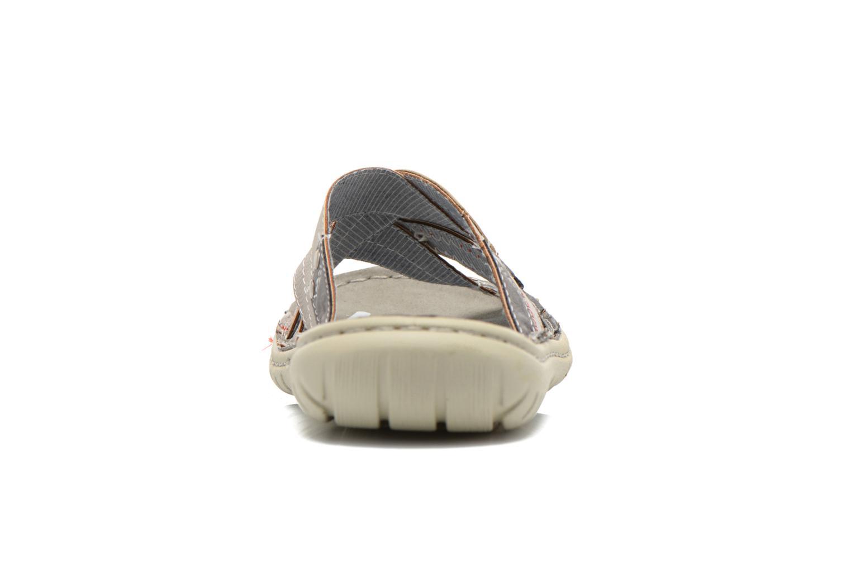 Sandales et nu-pieds Mustang shoes Silleul Gris vue droite