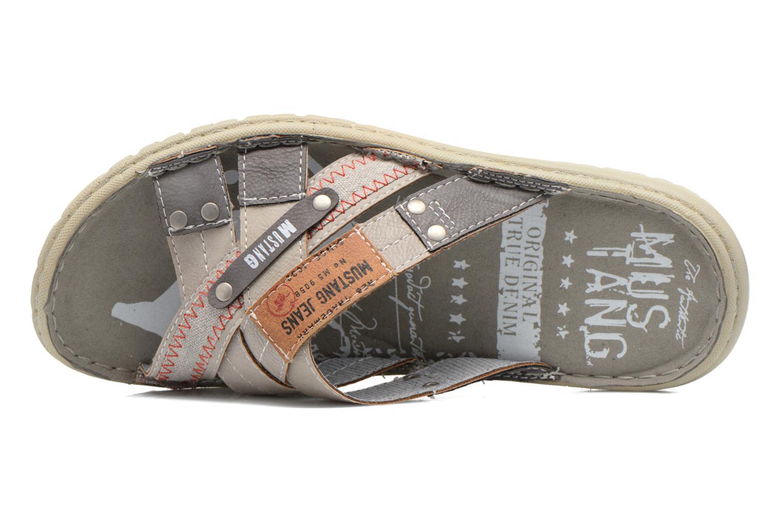 Sandales et nu-pieds Mustang shoes Silleul Gris vue gauche
