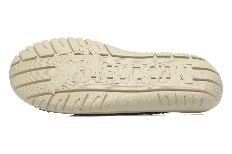 Sandales et nu-pieds Mustang shoes Silleul Gris vue haut
