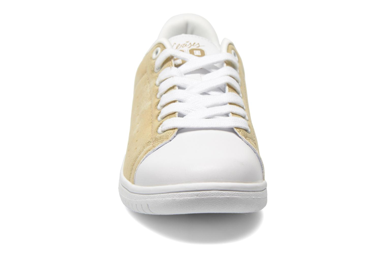 Baskets Le temps des cerises Boston Or et bronze vue portées chaussures