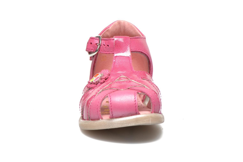 Sandales et nu-pieds Babybotte Tiyeul Rose vue portées chaussures