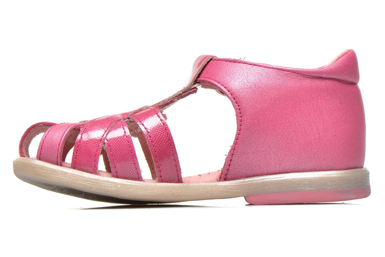 Sandales et nu-pieds Babybotte Tiyeul Rose vue face