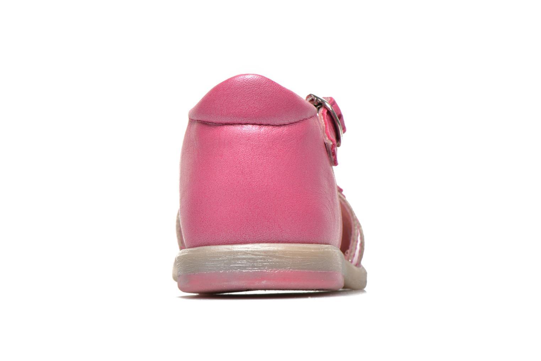 Sandales et nu-pieds Babybotte Tiyeul Rose vue droite