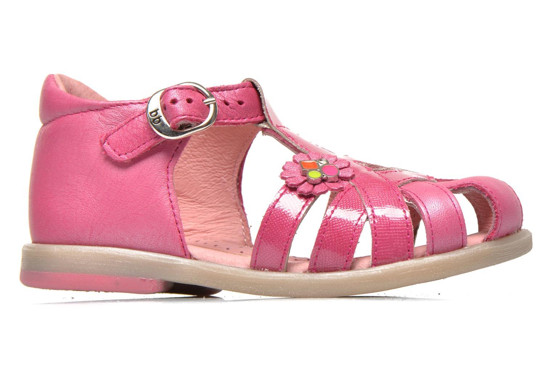 Sandales et nu-pieds Babybotte Tiyeul Rose vue derrière