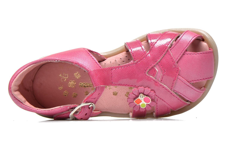 Sandales et nu-pieds Babybotte Tiyeul Rose vue gauche