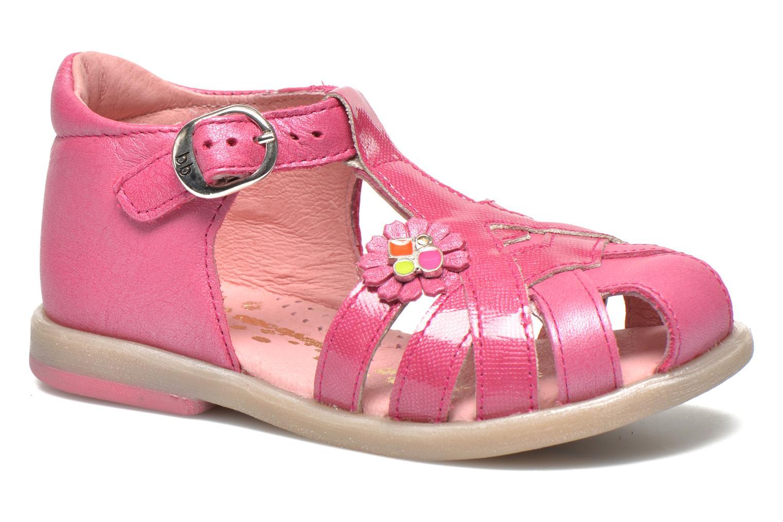 Sandales et nu-pieds Babybotte Tiyeul Rose vue détail/paire