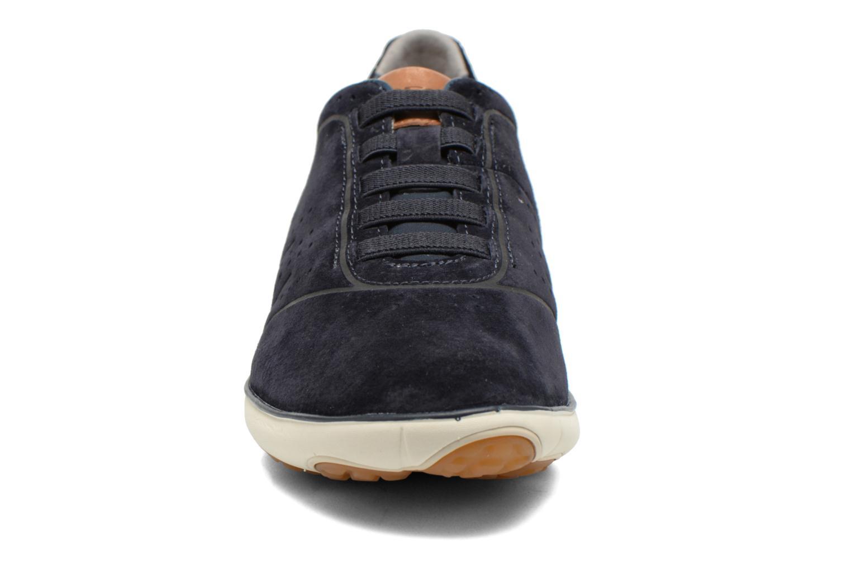 Baskets Geox U NEBULA C U62D7C Bleu vue portées chaussures