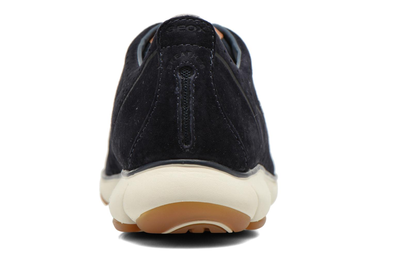 Sneaker Geox U NEBULA C U62D7C blau ansicht von rechts