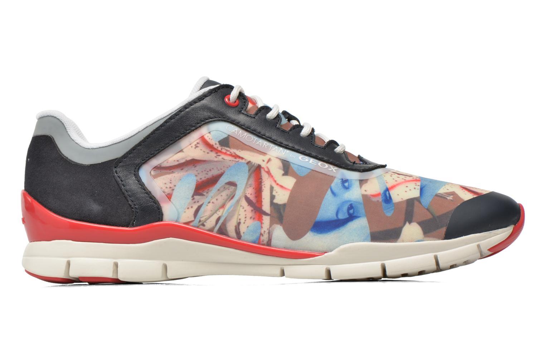 Sneakers Geox D SUKIE E D62F2E Azzurro immagine posteriore