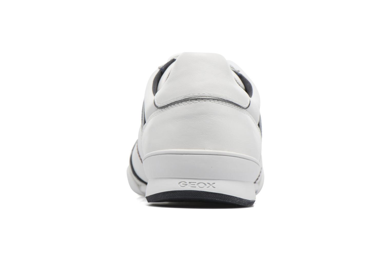 Baskets Geox U KRISTOF A U620EA Blanc vue droite