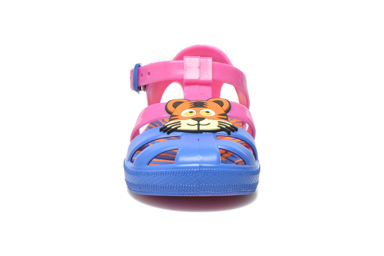 Sandales et nu-pieds Colors of California Jelly sandals TIGER Rose vue portées chaussures