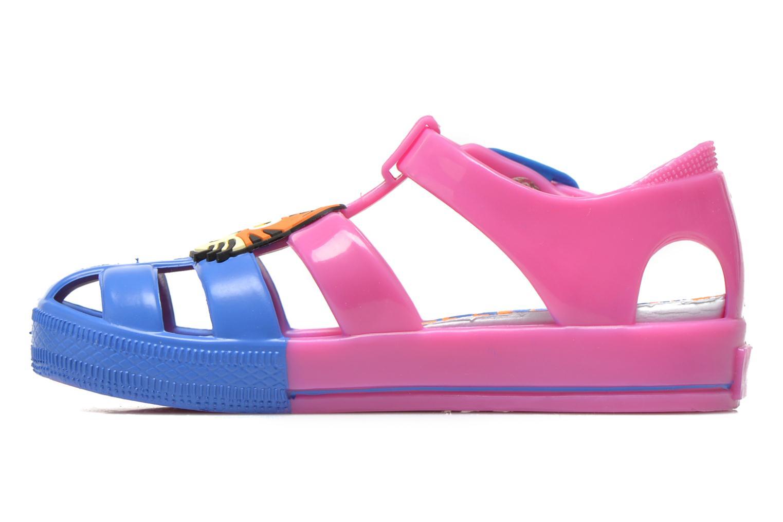 Sandales et nu-pieds Colors of California Jelly sandals TIGER Rose vue face