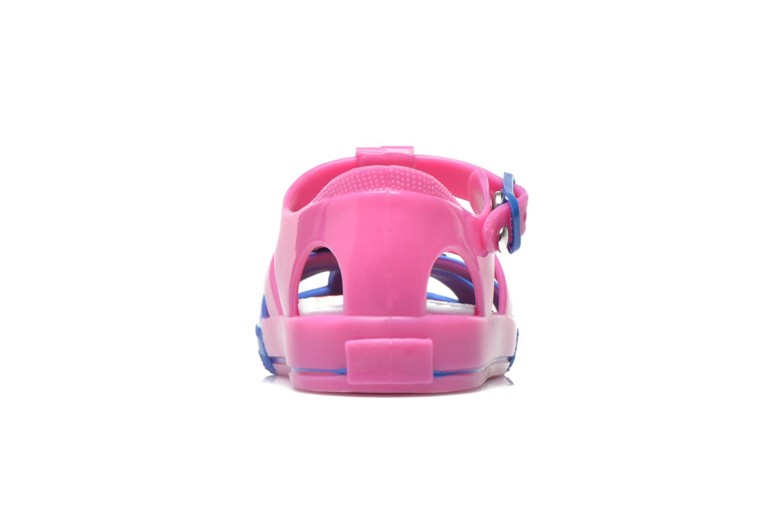 Sandales et nu-pieds Colors of California Jelly sandals TIGER Rose vue droite