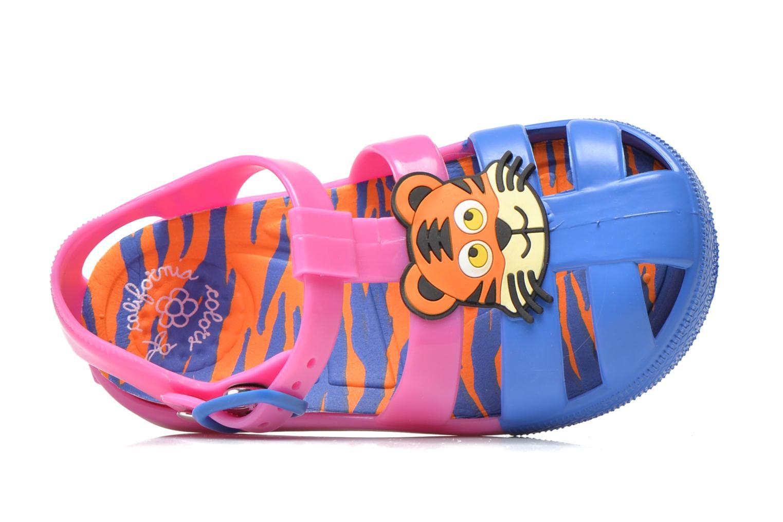 Sandales et nu-pieds Colors of California Jelly sandals TIGER Rose vue gauche