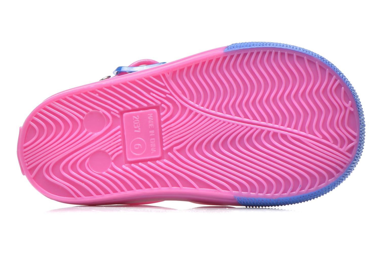 Sandales et nu-pieds Colors of California Jelly sandals TIGER Rose vue haut