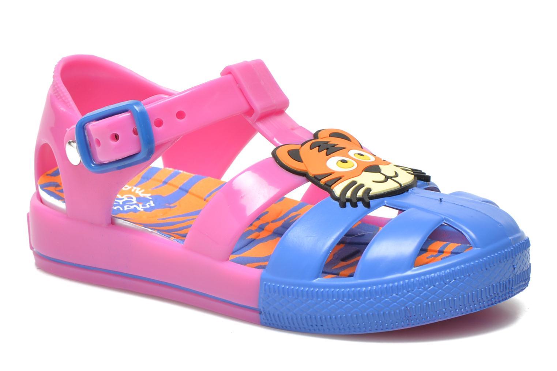 Sandales et nu-pieds Colors of California Jelly sandals TIGER Rose vue détail/paire