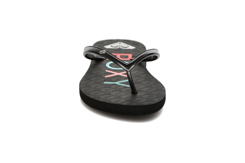 Tongs Roxy Rg Sandy Noir vue portées chaussures