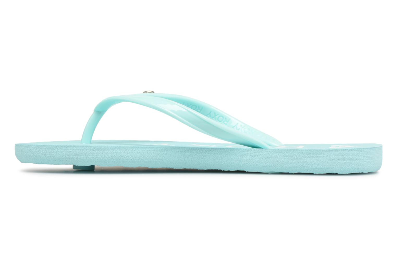 Flip flops Roxy Rg Sandy Blue front view