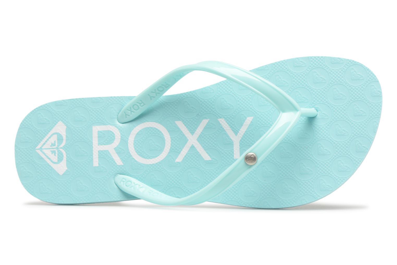Slippers Roxy Rg Sandy Blauw links