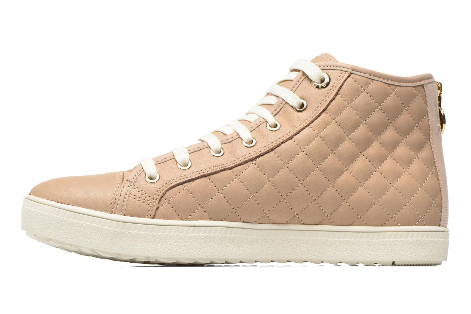 Sneakers Geox D AMARANTH ABX A D62Z4A Beige voorkant