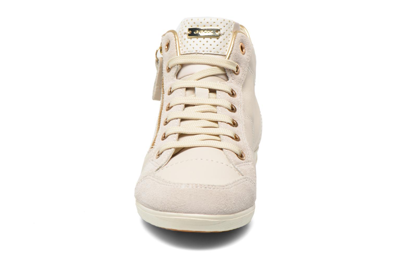 Baskets Geox D MYRIA A D6268A Blanc vue portées chaussures