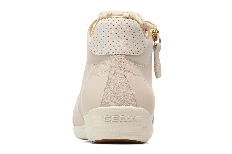 Baskets Geox D MYRIA A D6268A Blanc vue droite