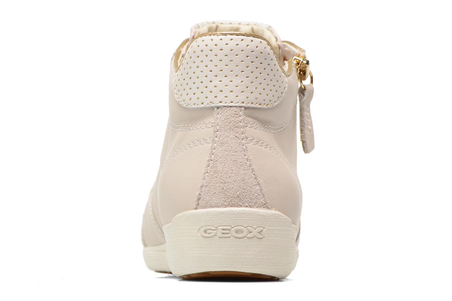 Trainers Geox D MYRIA A D6268A White view from the right
