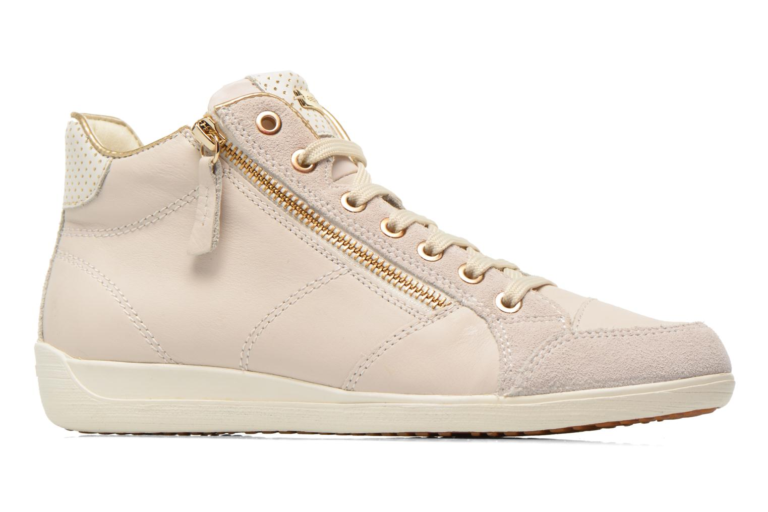 Trainers Geox D MYRIA A D6268A White back view