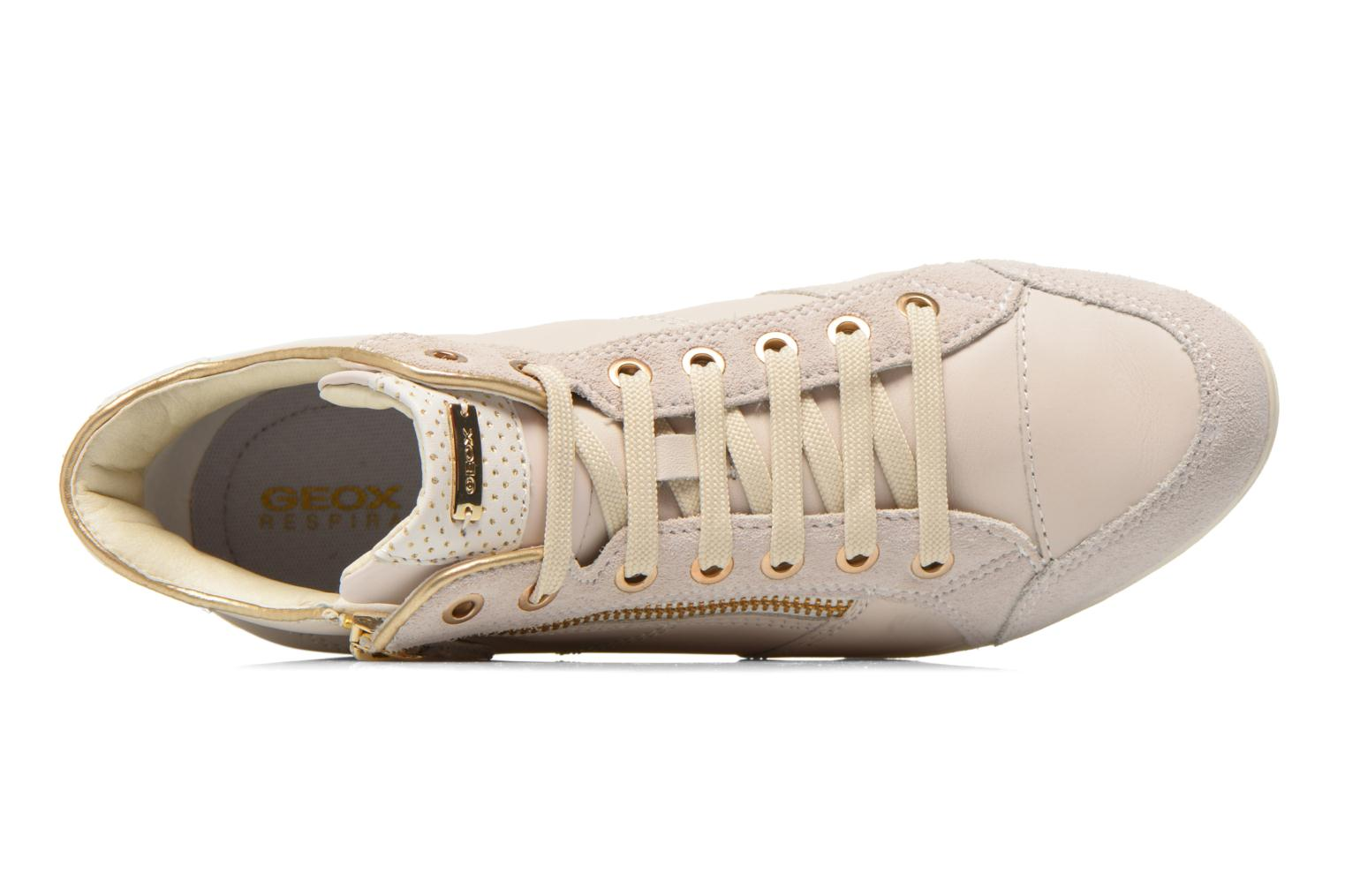 Trainers Geox D MYRIA A D6268A White view from the left