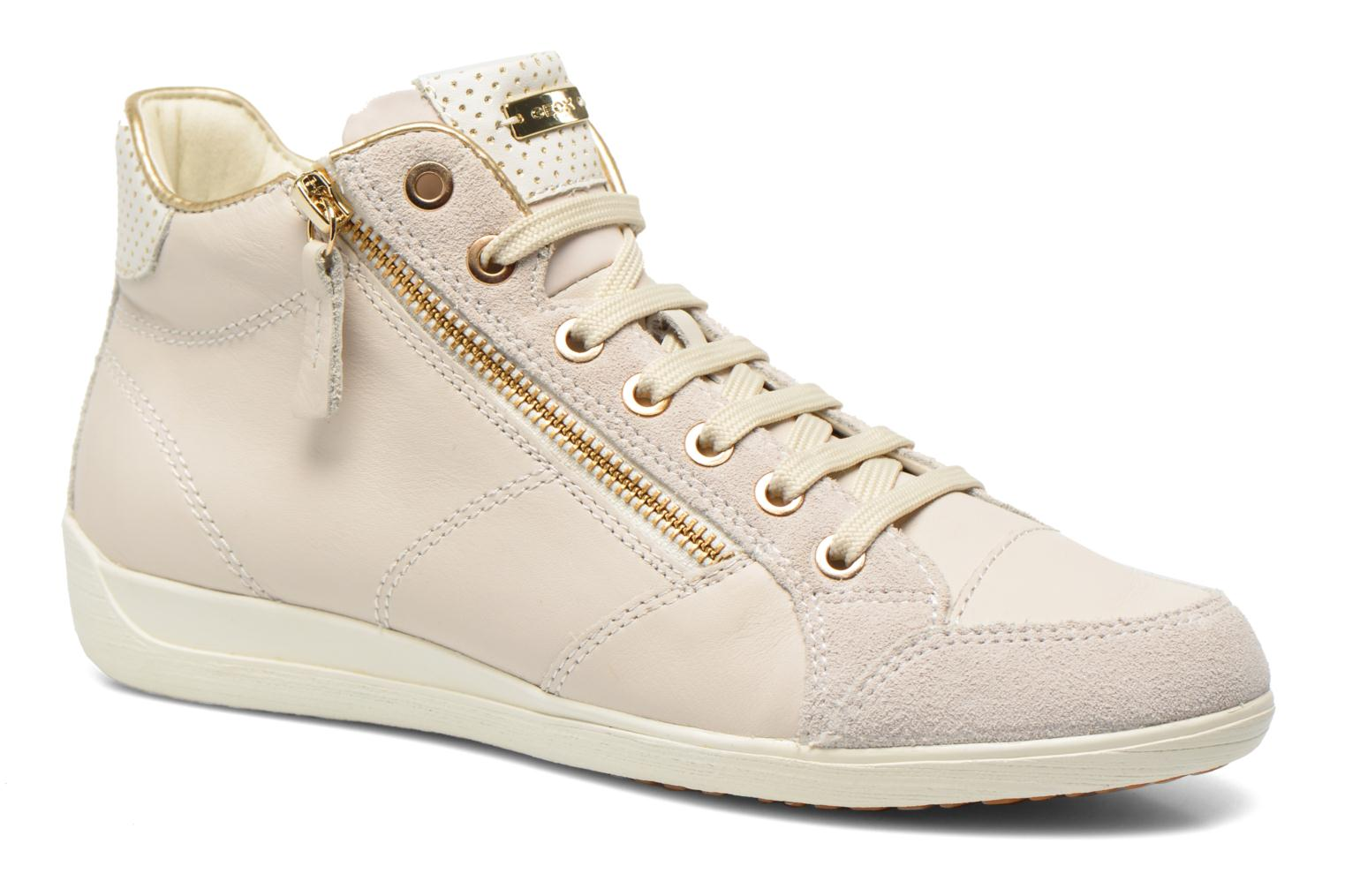 Trainers Geox D MYRIA A D6268A White detailed view/ Pair view