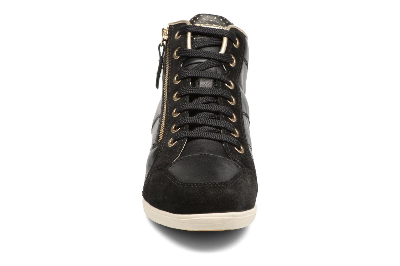 Sneaker Geox D MYRIA A D6268A schwarz schuhe getragen