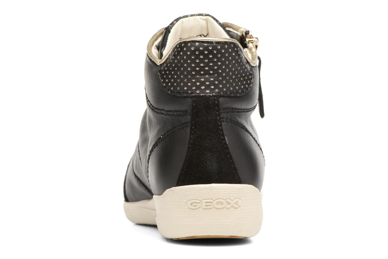 Sneaker Geox D MYRIA A D6268A schwarz ansicht von rechts
