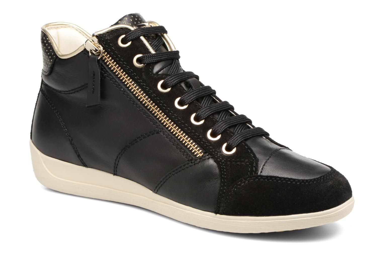 Sneaker Geox D MYRIA A D6268A schwarz detaillierte ansicht/modell