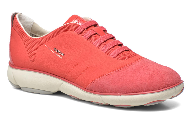 Grandes descuentos últimos zapatos Geox D NEBULA C D621EC (Rojo) - Deportivas Descuento