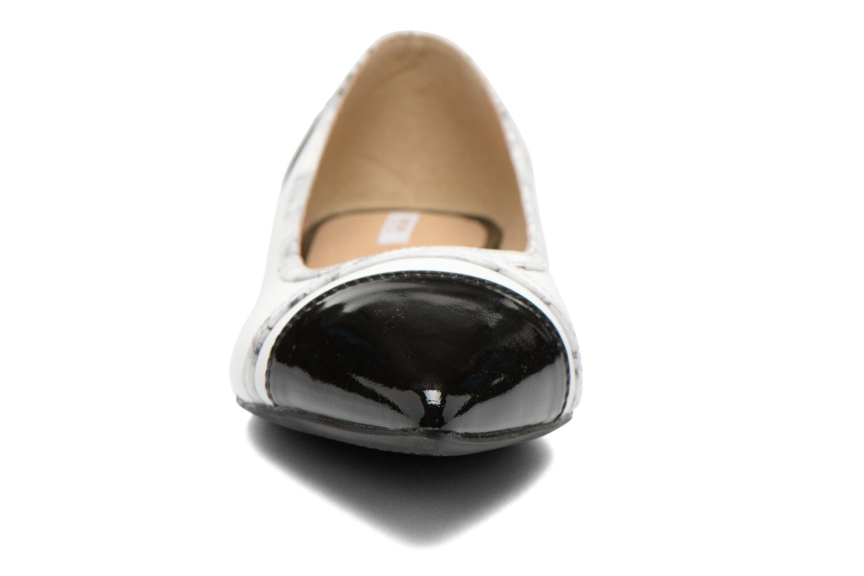 Ballerines Geox D RHOSYN B D620FB Multicolore vue portées chaussures