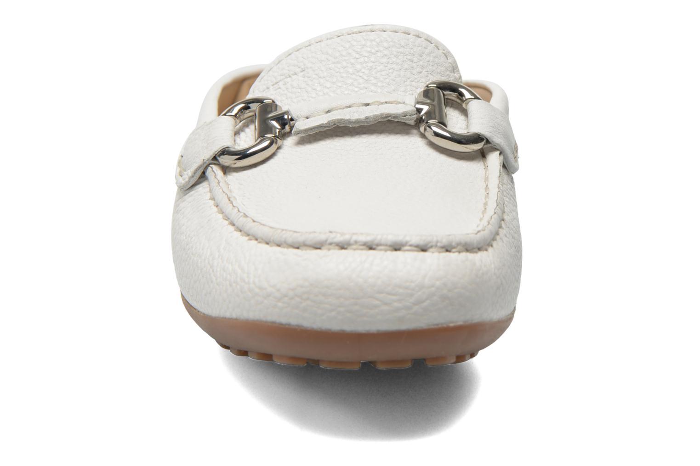 Clogs & Pantoletten Geox D EURO C D6245C weiß schuhe getragen