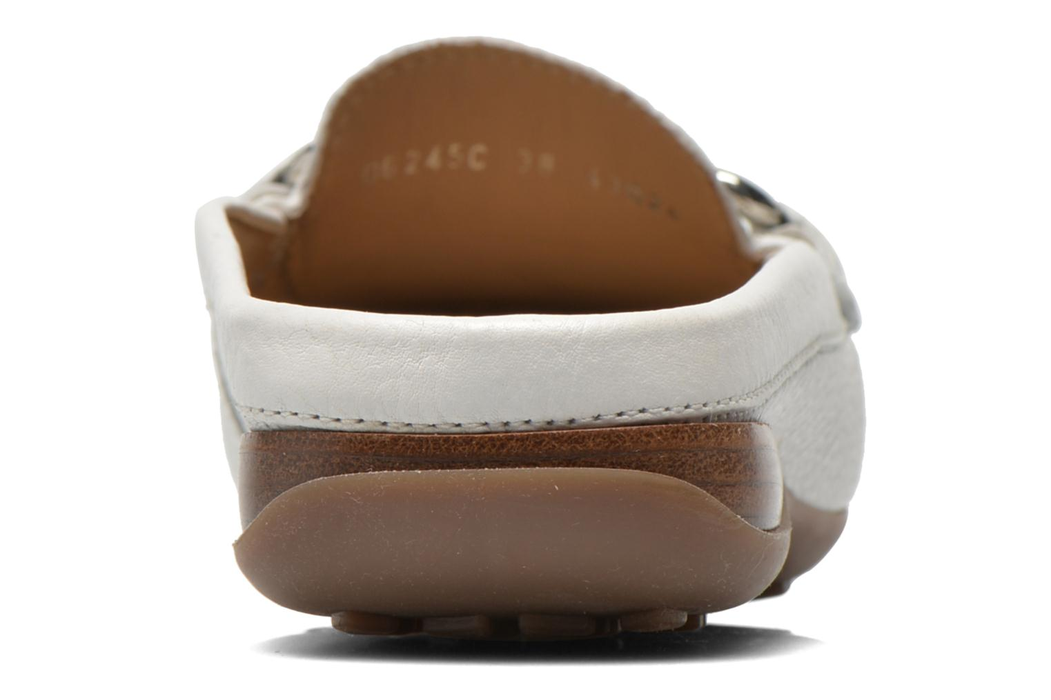 Mules & clogs Geox D EURO C D6245C White view from the right