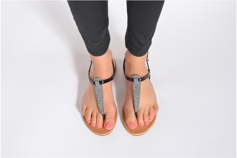 Sandales et nu-pieds Geox D SOZY F D622CF Beige vue bas / vue portée sac